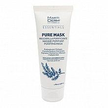 Парфюмерия и Козметика Маска за мазна и склонна към акне кожа - MartiDerm Essentials Pure-Mask