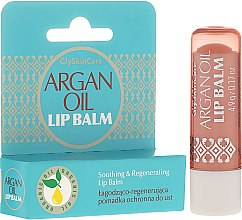 Парфюмерия и Козметика Защитно червило за устни с арганово масло - GlySkinCare Argan Oil Lip Balm