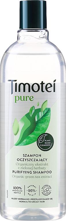 Деликатен шампоан за коса - Timotei Pure Shampoo