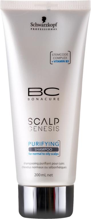 Шампоан за коса - Schwarzkopf Professional BC Bonacure Scalp Genesis Purifying Shampoo