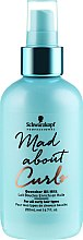 Парфюми, Парфюмерия, козметика Масло-мляко за коса - Schwarzkopf Professional Mad About Curls Quencher Oil Milk