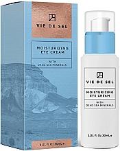 Парфюмерия и Козметика Овлажняващ околоочен крем - Vie De Sel Moisturizing Eye Cream