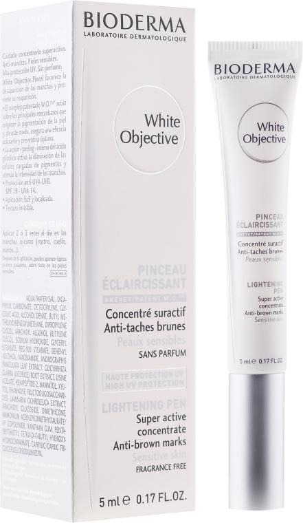 Концентрат-четка против пигментни петна - Bioderma White Objective Lightening Brush
