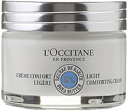 Парфюми, Парфюмерия, козметика Лек крем за лице - L'occitane Light Face Cream