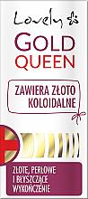 Парфюмерия и Козметика Балсам за отслабени нокти - Lovely Gold Queen
