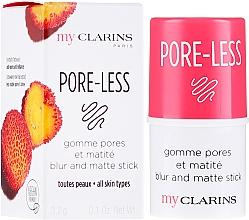 Парфюмерия и Козметика Матиращ стик за лице - Clarins My Clarins Pore-Less Blur And Matte Stick