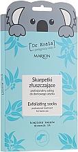 Парфюмерия и Козметика Ексфолираща маска-чорапи за крака - Marion Dr Koala Exfoliating Socks
