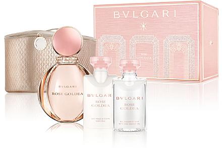Bvlgari Rose Goldea - Комплект (edp/90ml + b/lot/75ml + sh/gel/75ml + bag) — снимка N1