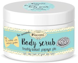 Парфюми, Парфюмерия, козметика Скраб за тяло с аромат на папая - Nacomi Body Scrub Freshly Baked Papaya Pie