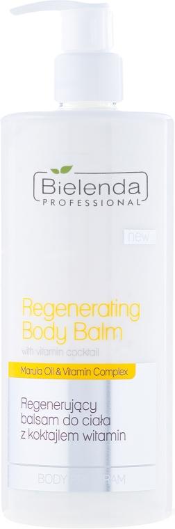 Регенериращ балсам за тяло с коктейл от витамини - Bielenda Professional Body Program Regenerating Body Balm