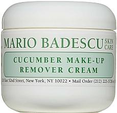 Парфюмерия и Козметика Крем за премахване на грим - Mario Badescu Cucumber Make-up Remover Cream