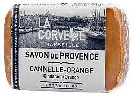 """Парфюми, Парфюмерия, козметика Провансалски сапун """"Канела с портокал"""" - La Corvette Provence soap Cinnamon-Orange"""