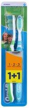 Парфюми, Парфюмерия, козметика Комплект четки за зъби - Oral-B 1 2 3 Natural Fresh 40 Medium