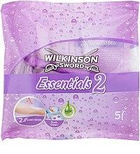 Парфюмерия и Козметика Комплект дамски самобръсначки - Wilkinson Sword Essentials 2
