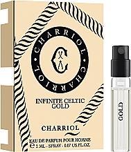 Парфюмерия и Козметика Charriol Infinite Celtic Gold - Парфюмна вода (мостра)