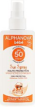 Парфюмерия и Козметика Слънцезащитен спрей за деца - Alphanova Baby Sun Protection Spray SPF 50