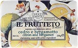 Парфюмерия и Козметика Сапун с екстракт от лимон и бергамот - Nesti Dante Il Frutteto Soap