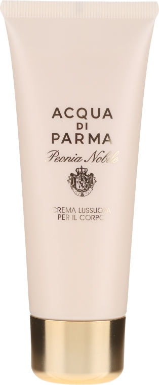 Acqua di Parma Peonia Nobile - Комплект (парф. вода/100ml + душ гел/75ml + крем за тяло/75ml) — снимка N4