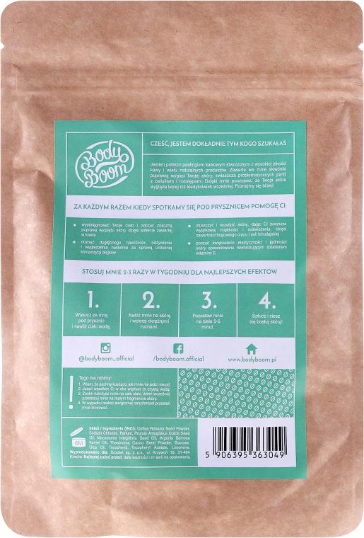 Скраб за тяло с кафе и мента - BodyBoom Coffee Scrub Mint — снимка N2