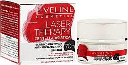 Парфюми, Парфюмерия, козметика Крем за лице 70+ - Eveline Cosmetics Laser Therapy Centella Asiatica 70+