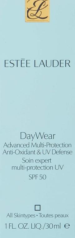 Крем-защита от ултравиолетовите лъчи с антиоксиданти - Estee Lauder DayWear UV Base SPF50 — снимка N2