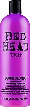 Парфюми, Парфюмерия, козметика Възстановяващ балсам за изрусена коса - Tigi Bed Head Dumb Blonde Conditioner