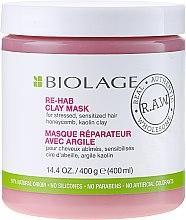 Парфюми, Парфюмерия, козметика Детокс маска за увредена коса - Matrix Biolage R.A.W. Re-Hab Clay Mask