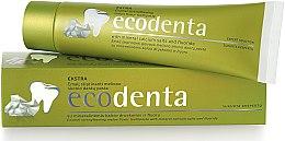 Парфюми, Парфюмерия, козметика Паста за зъби, укрепваща емайла, със свеж аромат на пъпеш - Ecodenta Extra Enamel Strengthening Melon Flavor Toothpaste