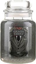Парфюмерия и Козметика Ароматна свещ в бурканче - Country Candle Grey