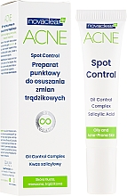 Парфюмерия и Козметика Крем против акне - Novaclear Acne Spot Control