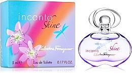 Парфюмерия и Козметика Salvatore Ferragamo Incanto Shine - Тоалетна вода ( мини )