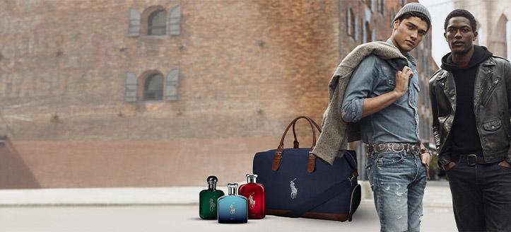 При покупка на продукти Ralph Lauren за сума над 135 лв. получавате подарък брандирана чанта