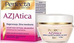 Парфюми, Парфюмерия, козметика Крем-масло за лице - Dax Cosmetics Perfecta Azjatica White Cream Oil