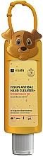 """Парфюмерия и Козметика Антибактериален детски гел за ръце """"Куче"""" - HiSkin Antibac Hand Cleanser+"""
