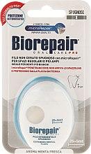 """Парфюмерия и Козметика Конец за зъби """"Избелващ"""", 30 м - Biorepair Expanding Floss"""