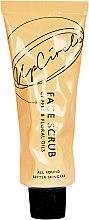 Парфюмерия и Козметика Кофеинов скраб за лице с цветна есенция - UpCircle Coffee Face Scrub Floral Blend