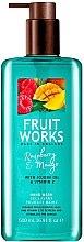 """Парфюмерия и Козметика Сапун за ръце """"Малина и Манго"""" - Grace Cole Fruit Works Hand Wash Raspberry & Mango"""