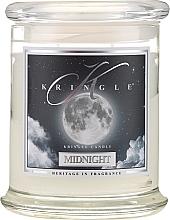 Парфюмерия и Козметика Ароматна свещ в бурканче - Kringle Candle Midnight