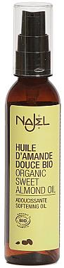 Масло от сладък бадем - Najel Natural Organic Sweet Almond Oil — снимка N1