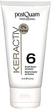 Парфюмерия и Козметика Балсам с кератин за изправяне на косата - PostQuam Keractiv Smooth Balsam