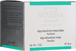 Парфюмерия и Козметика Подмладяваща маска за лице и околоочния контур - Terme Di Saturnia Rejuvenation Mask Face-Eyes