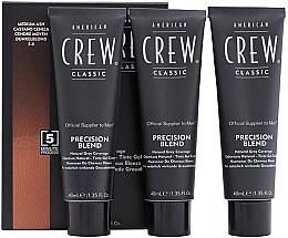 Парфюми, Парфюмерия, козметика Система маскировки седины (уровень 5-6) - American Crew Classic Precision Blend Medium Ash