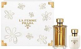 Парфюмерия и Козметика Prada La Femme Prada - Комплект (edp/100ml + b/lot/100ml)