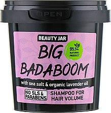 """Парфюмерия и Козметика Шампоан за обем на косата """"Big Badaboom"""" - Beauty Jar Shampoo For Hair Volume"""