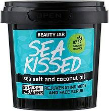 """Парфюмерия и Козметика Регенериращ скраб за тяло и лице """"Sea Kissed"""" - Beauty Jar Rejuvenating Body And Face Scrub"""