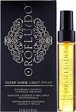 Парфюмерия и Козметика Спрей за блестяща коса - Orofluido Super Shine Light Spray