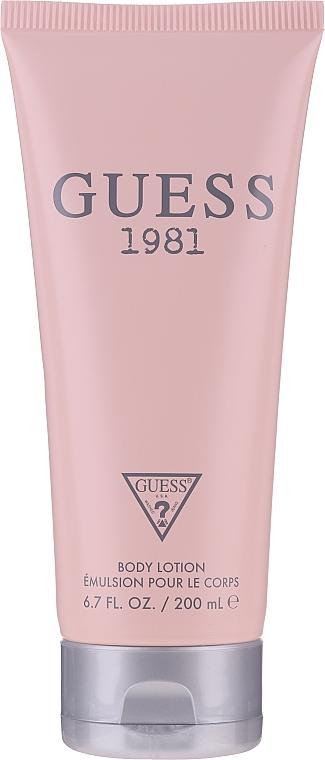 Guess 1981 - Комплект (тоал. вода/100ml + лосион за тяло/200ml + тоал. вода/15ml) — снимка N4