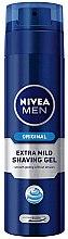 Парфюми, Парфюмерия, козметика Гел за бръснене - Nivea Original Extra Mild Shaving Gel