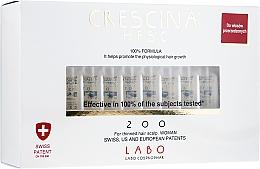 Парфюмерия и Козметика Лосион-концентрат на ампули за възстановяване на растежа на косата при жени 200 - Labo Crescina HFSC 200 Re-Growth Woman