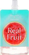 Парфюмерия и Козметика Овлажняващ и успокояващ гел за лице с диня - Skin79 Real Fruit Soothing Gel Watermelon